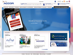 site interne d'accor