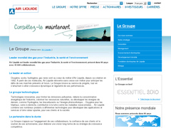 site interne de air liquide