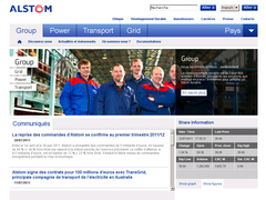 site interne de alstom
