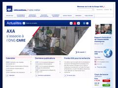 site interne de axa