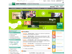 site interne de bnp paribas