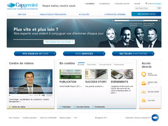 site interne de cap g�mini