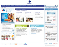 site interne de Carrefour
