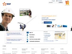 site interne de EDF