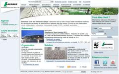 site interne de Lafarge
