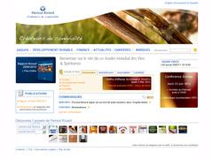site interne de Pernod Ricard