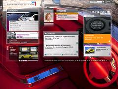 site interne de Peugeot