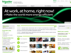 site interne de schneider electric