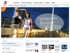 site interne de total