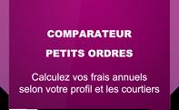 comparateur pour les petits ordres, inférieur à 3000 euros